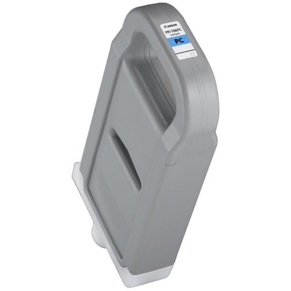 Drucker-Patrone kompatibel Canon PFI-706PC/6685B001, Photo-Cyan, Canon imagePROGRAF IPF 8300, 8400, 9400