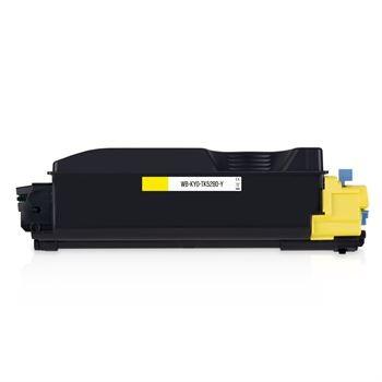 Toner rebuilt Kyocera (TK-5280Y) yellow (gelb), für ca. 11.000 Seiten