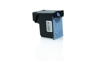 Drucker-Patrone rebuilt HP (701XL/CC675AE) Black HP OfficeJet-4100/4105/4110/4115/4200/4214/4215/4219/4250/4251/4252/4255/4259/5500/5505/5510/5515/5600/5605/5610/5615/6110/6150/J5520, HP Fax 2140, Fax 640, Fax 650