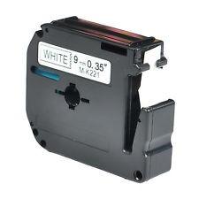 Schriftband Für P-touch Schwarz Auf Weiß MK231 M-K231 12mm PT-70 PT-80